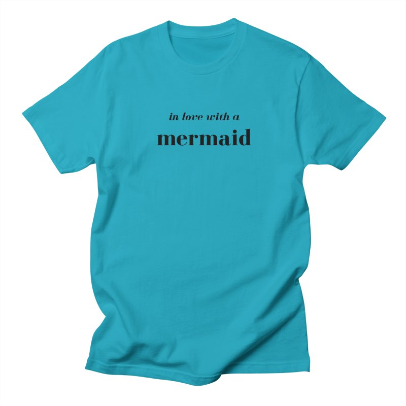 In love with a mermaid Men's Regular T-Shirt by Official Ice Massacre Merch