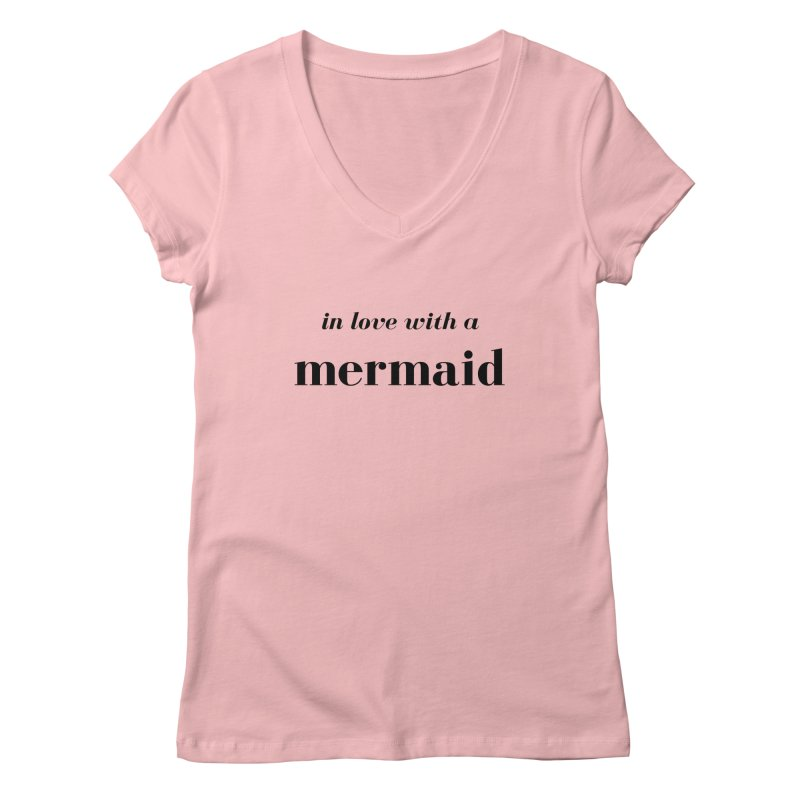 In love with a mermaid Women's Regular V-Neck by Official Ice Massacre Merch