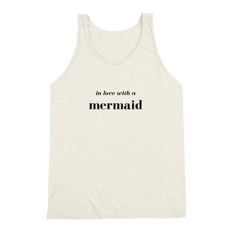 In love with a mermaid Men's Triblend Tank by Official Ice Massacre Merch