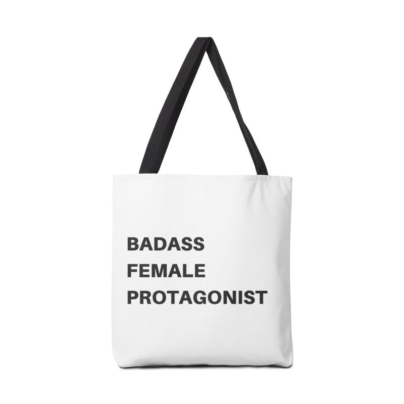 Badass Female Protagonist Accessories Bag by Official Ice Massacre Merch