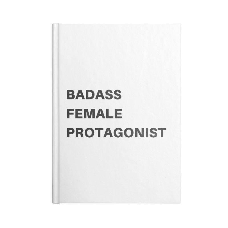 Badass Female Protagonist Accessories Blank Journal Notebook by Official Ice Massacre Merch