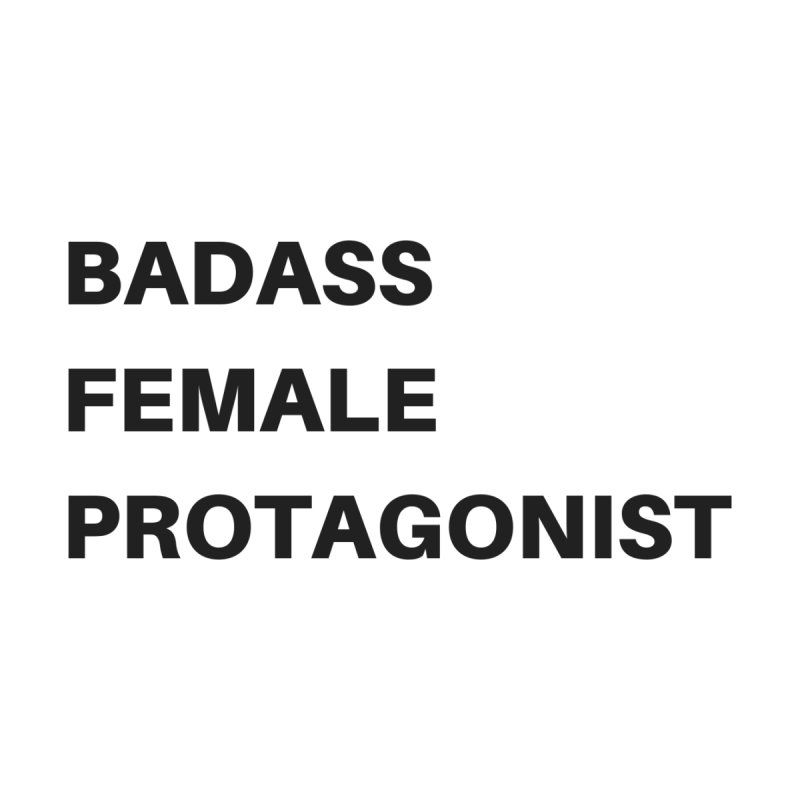 Badass Female Protagonist by Official Ice Massacre Merch