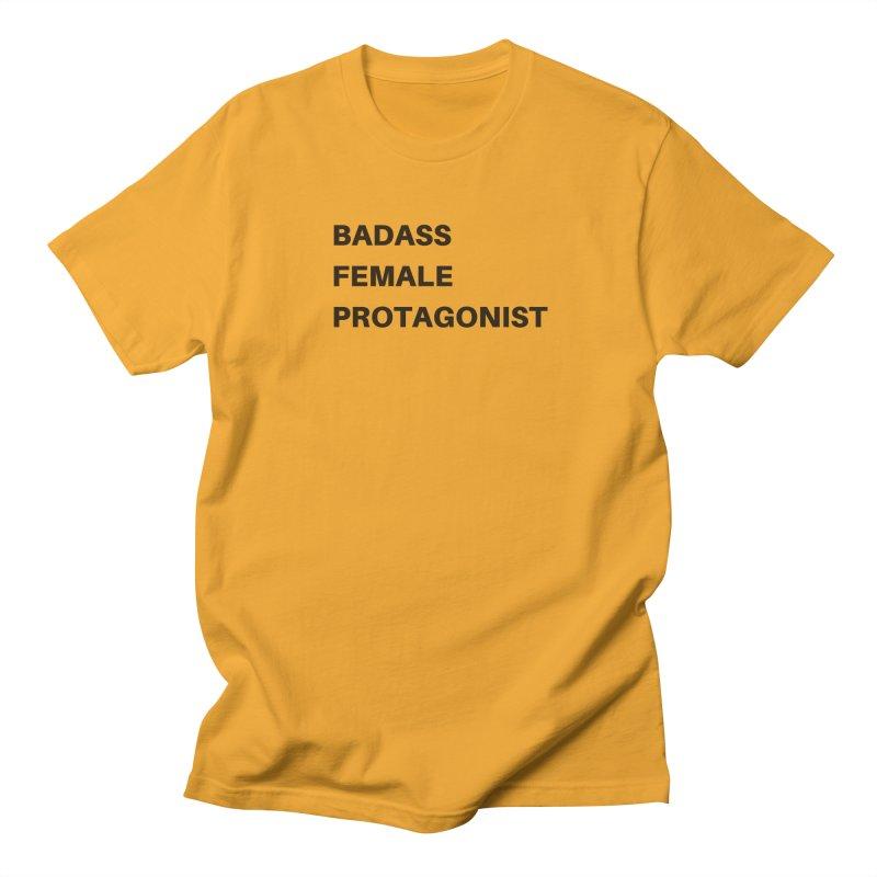 Badass Female Protagonist Men's Regular T-Shirt by Official Ice Massacre Merch