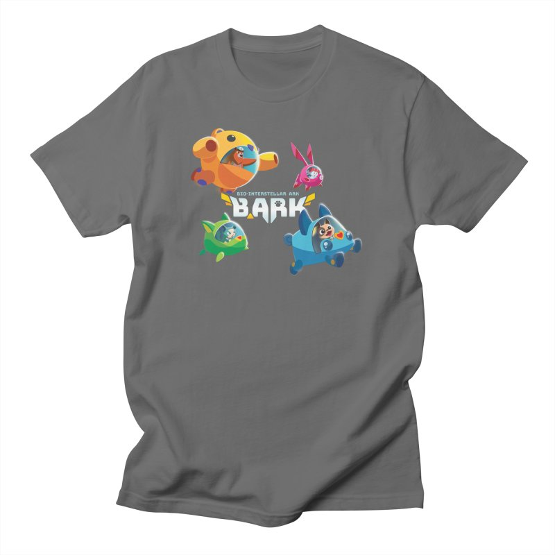 B.ARK Space Fighters + Logo Men's T-Shirt by Tic Toc Games Shop
