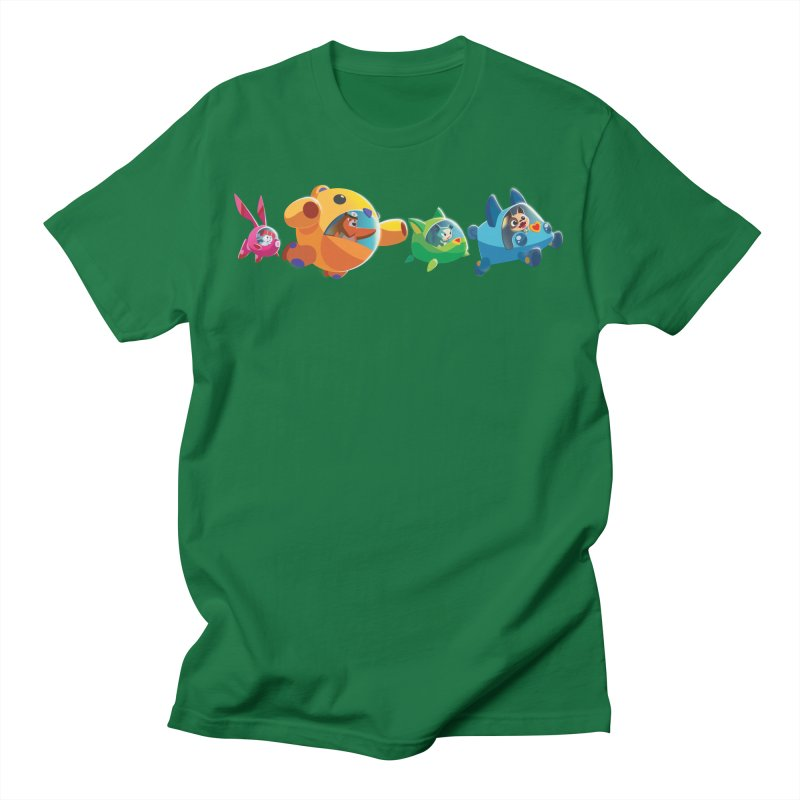 B.ARK Space Fighters Men's T-Shirt by Tic Toc Games Shop