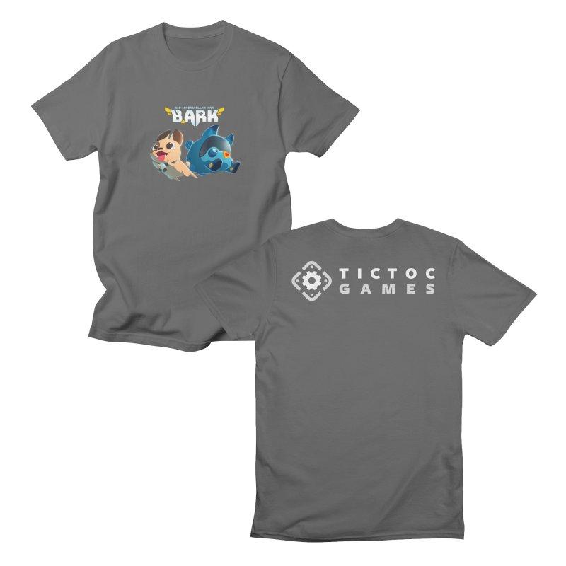 Barker + Wishbone Men's T-Shirt by Tic Toc Games Shop