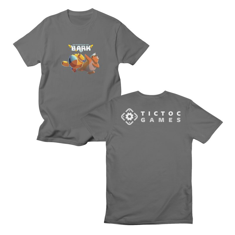 Lucio + Mossy Pig II Men's T-Shirt by Tic Toc Games Shop