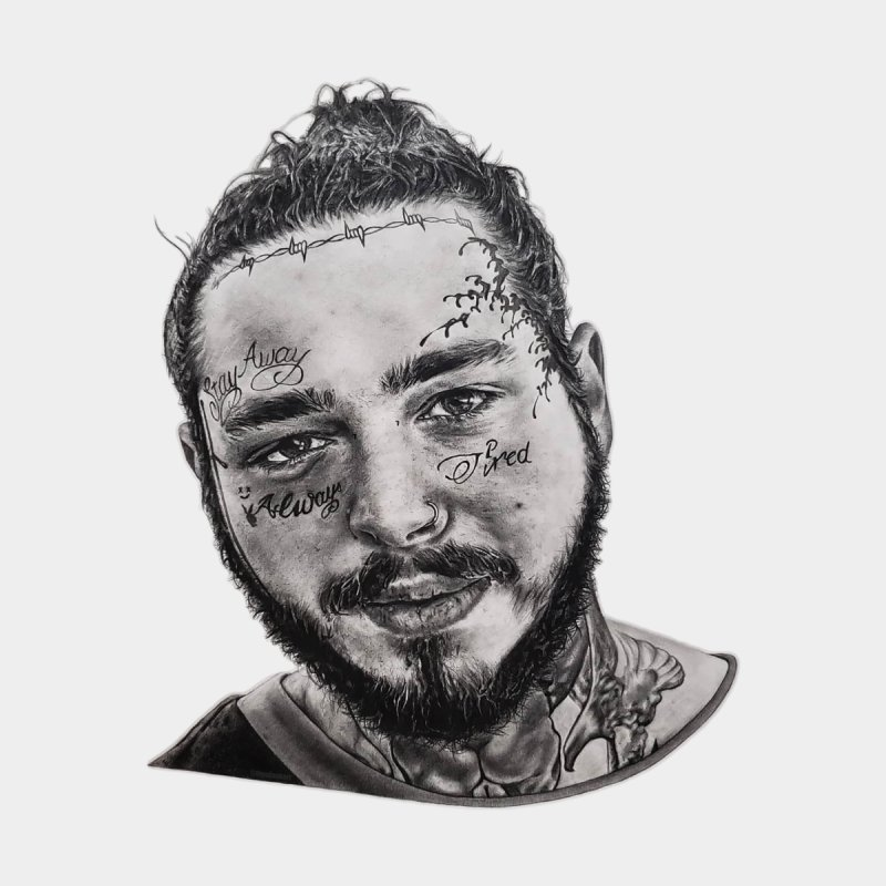 Post Malone Drawing: Tiendank Post-malone Kids
