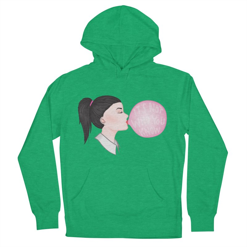 It's Not Who You Know Women's Pullover Hoody by tiffymoon's Artist Shop