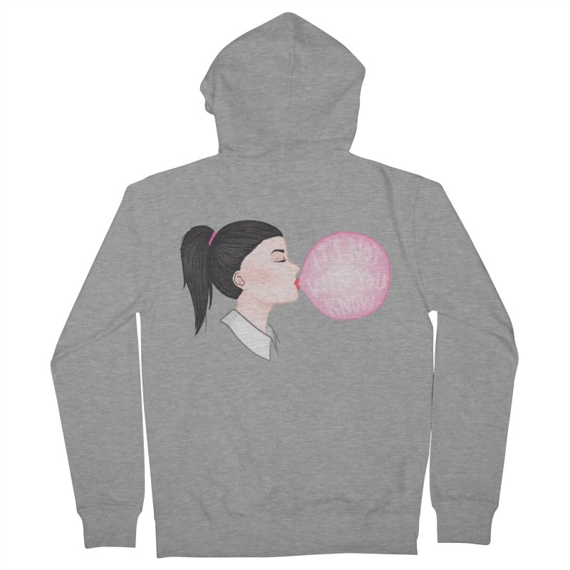 It's Not Who You Know Women's Zip-Up Hoody by tiffymoon's Artist Shop