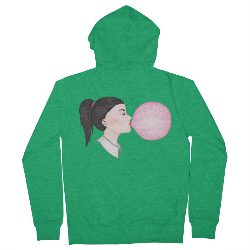 It's Not Who You Know Men's Zip-Up Hoody by tiffymoon's Artist Shop