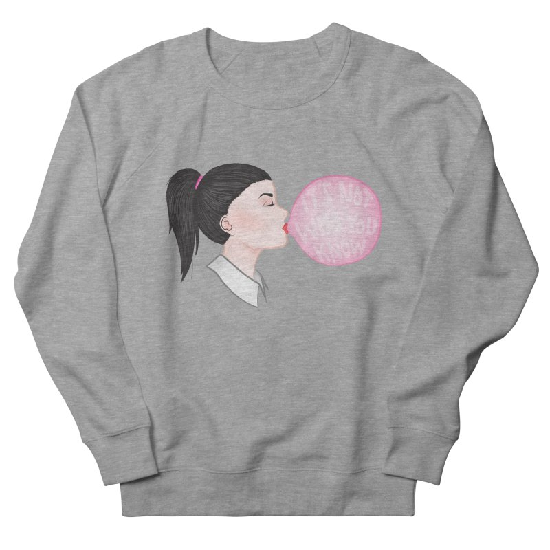 It's Not Who You Know Men's Sweatshirt by tiffymoon's Artist Shop
