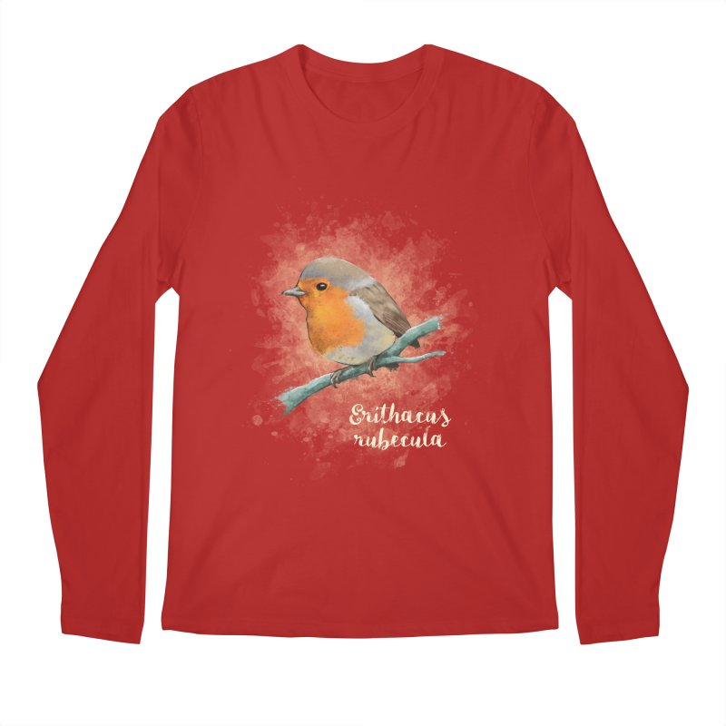 RedRobin Men's Longsleeve T-Shirt by Tiger74  - t-shirts with a claw!