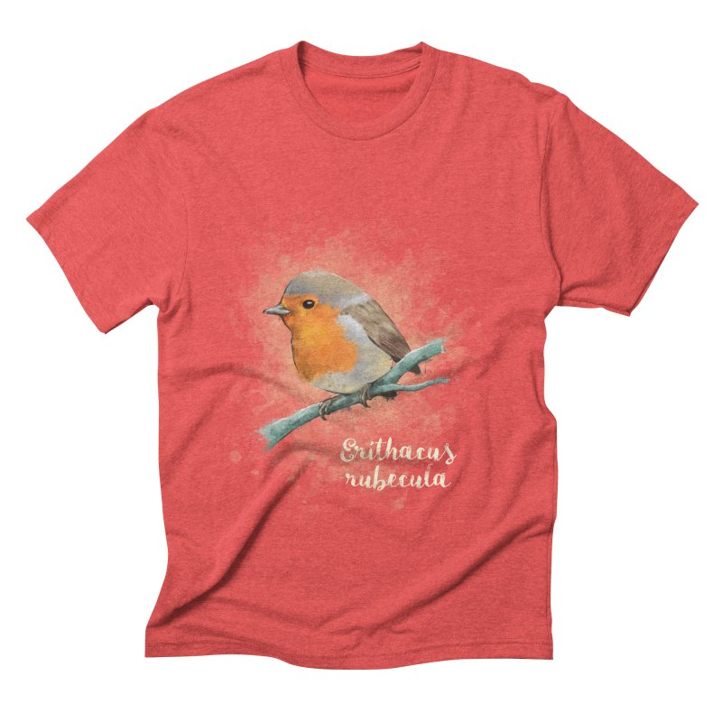 RedRobin Men's Triblend T-shirt by Tiger74  - t-shirts with a claw!