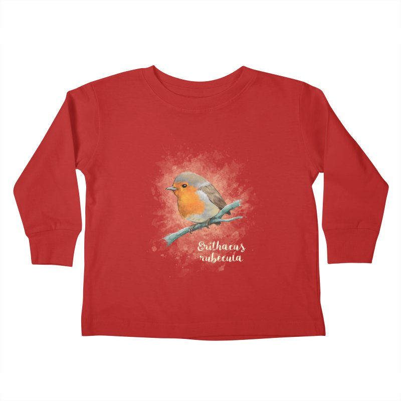 RedRobin Kids Toddler Longsleeve T-Shirt by Tiger74  - t-shirts with a claw!