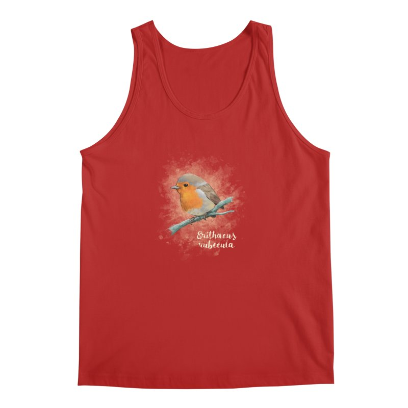 RedRobin Men's Tank by Tiger74  - t-shirts with a claw!