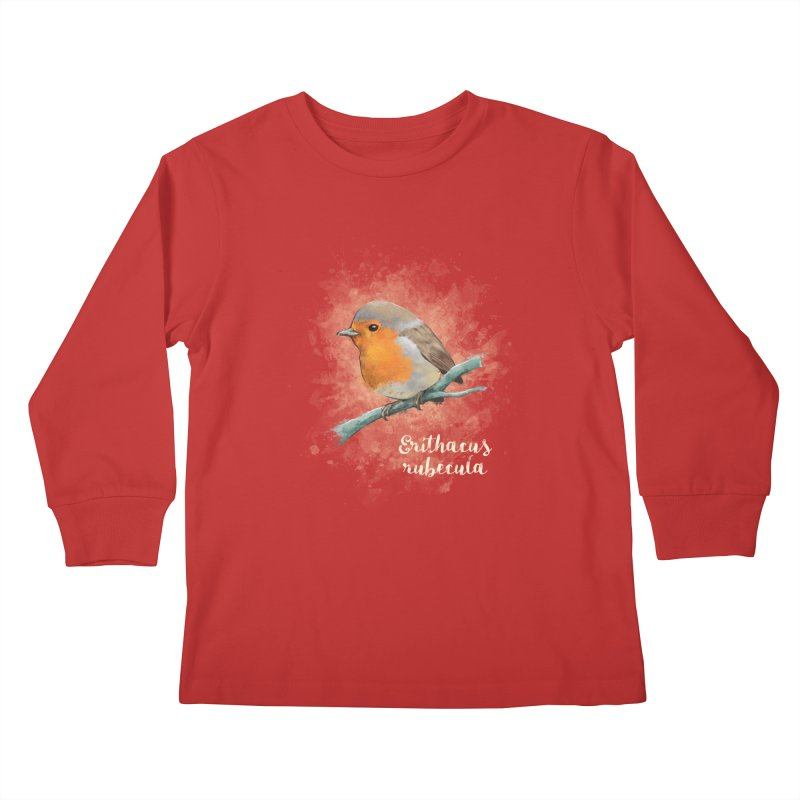 RedRobin Kids Longsleeve T-Shirt by Tiger74  - t-shirts with a claw!