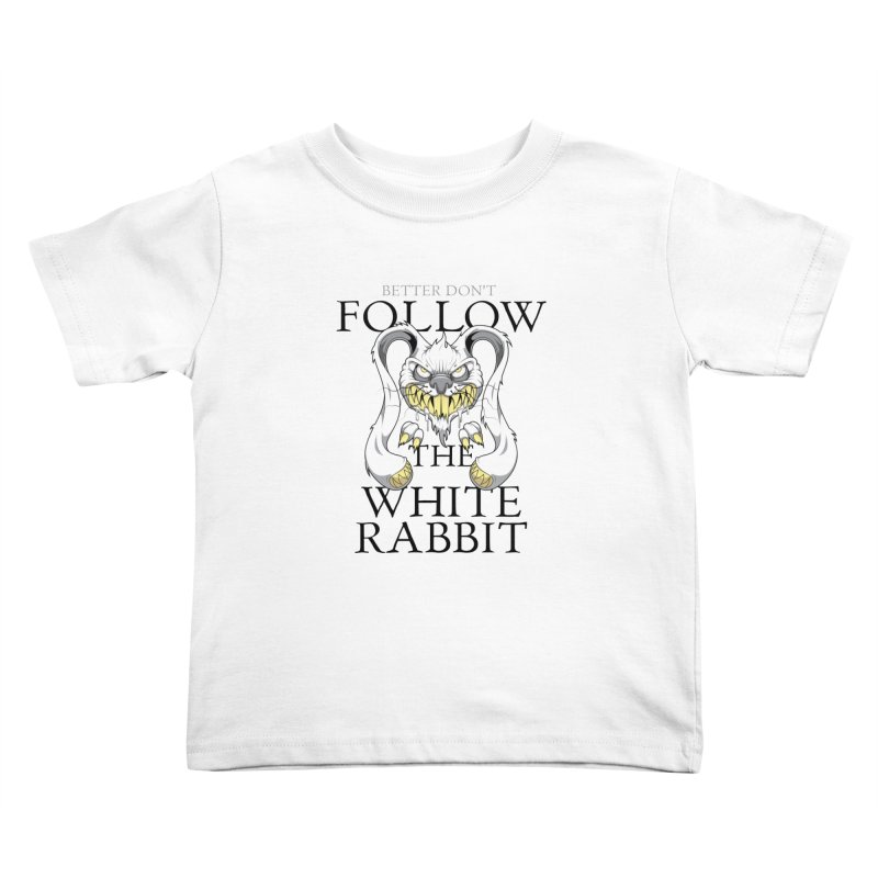Don't follow! Kids Toddler T-Shirt by Tiger74  - t-shirts with a claw!