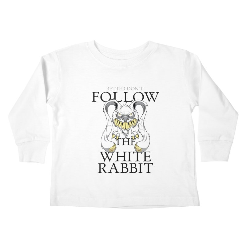 Don't follow! Kids Toddler Longsleeve T-Shirt by Tiger74  - t-shirts with a claw!