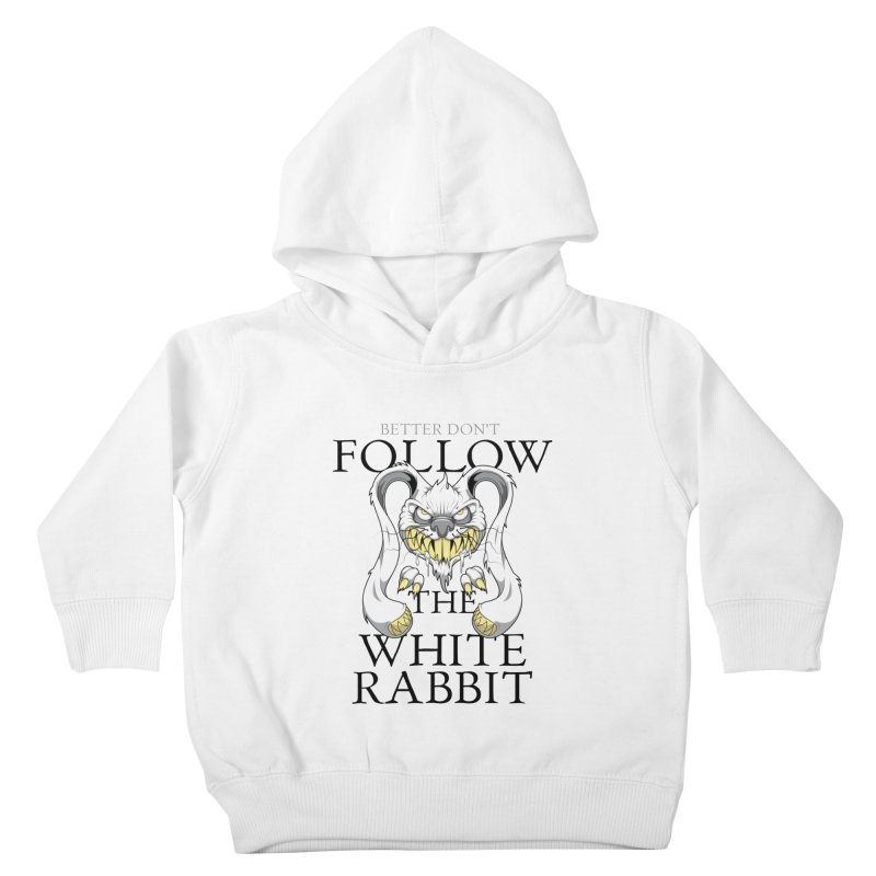Don't follow! Kids Toddler Pullover Hoody by Tiger74  - t-shirts with a claw!