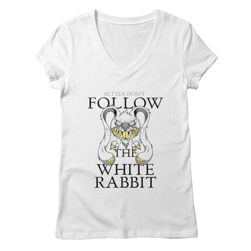 Don't follow! Women's V-Neck by Tiger74  - t-shirts with a claw!