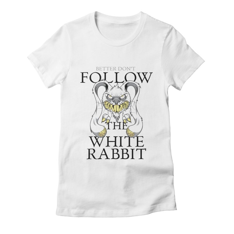 Don't follow! Women's Fitted T-Shirt by Tiger74  - t-shirts with a claw!
