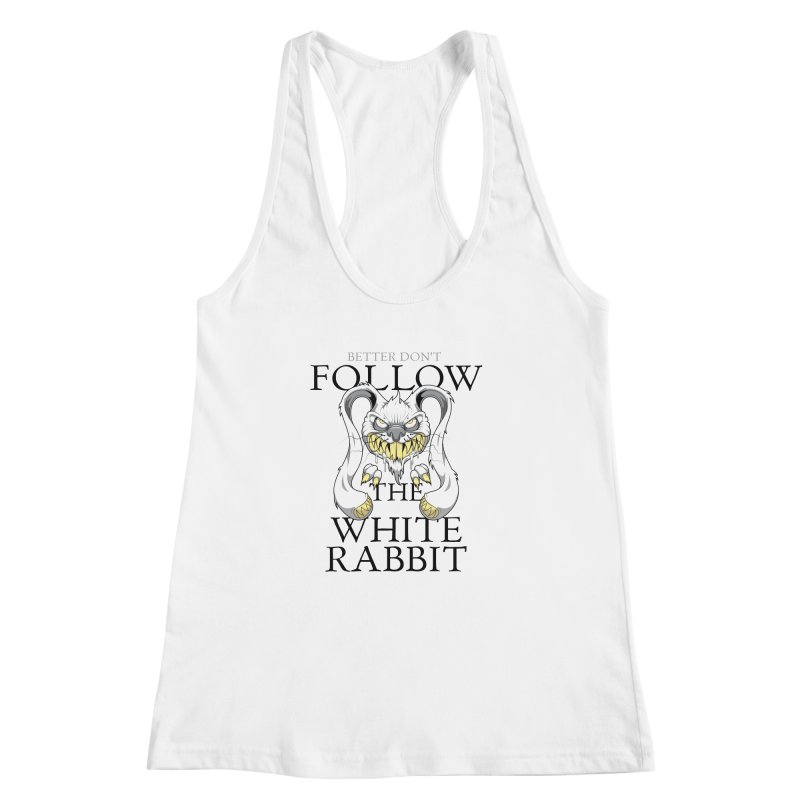 Don't follow! Women's Racerback Tank by Tiger74  - t-shirts with a claw!