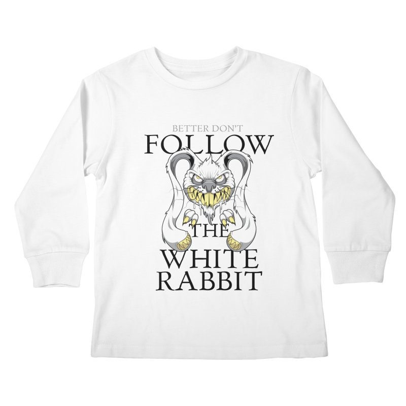 Don't follow! Kids Longsleeve T-Shirt by Tiger74  - t-shirts with a claw!