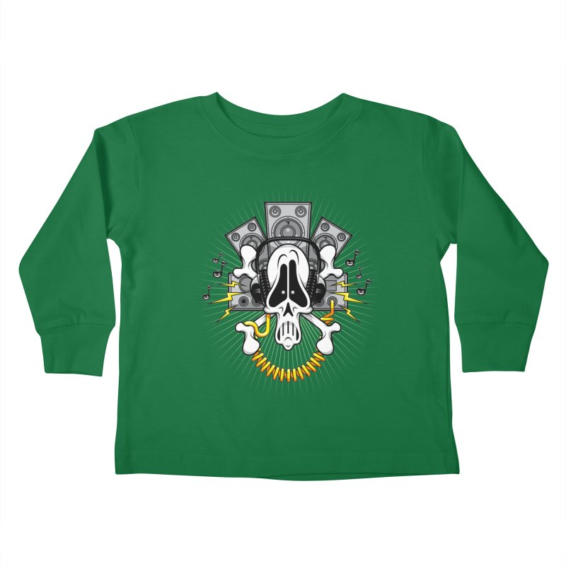 Noizzz! Kids Toddler Longsleeve T-Shirt by Tiger74  - t-shirts with a claw!