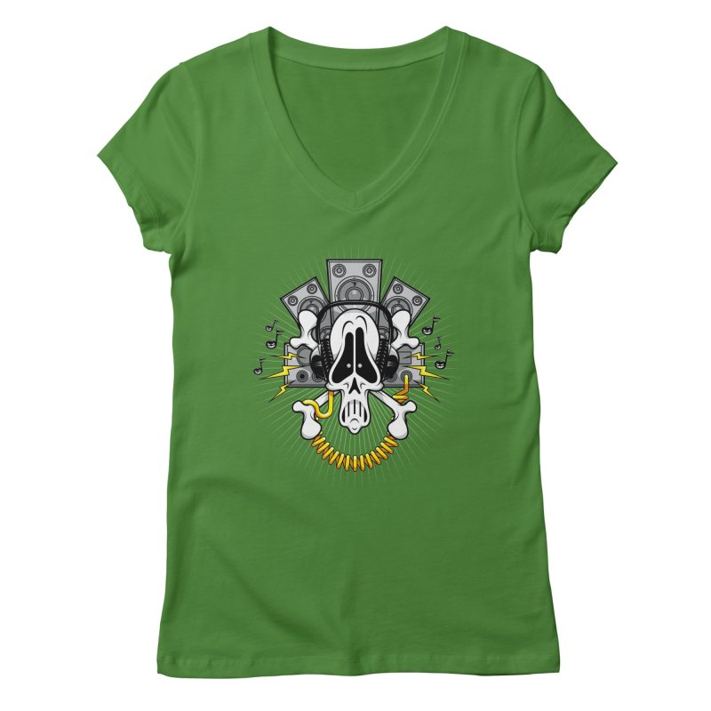 Noizzz! Women's V-Neck by Tiger74  - t-shirts with a claw!