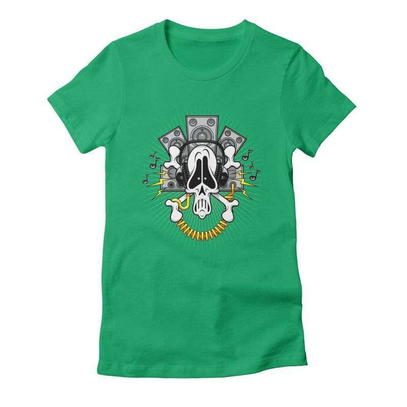 Noizzz! Women's Fitted T-Shirt by Tiger74  - t-shirts with a claw!