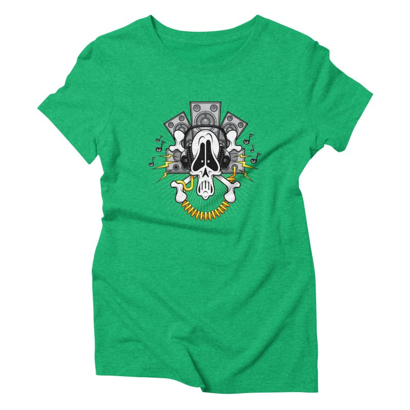Noizzz! Women's Triblend T-shirt by Tiger74  - t-shirts with a claw!