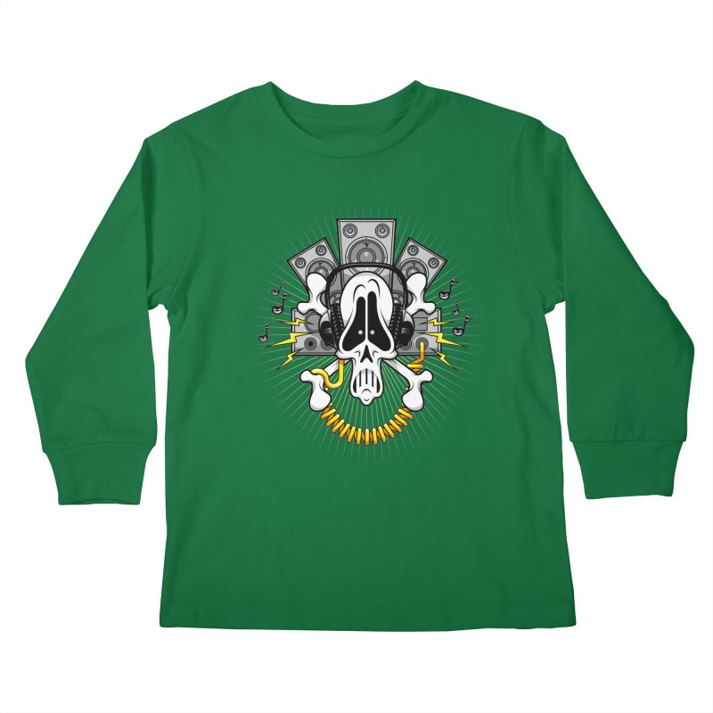 Noizzz! Kids Longsleeve T-Shirt by Tiger74  - t-shirts with a claw!