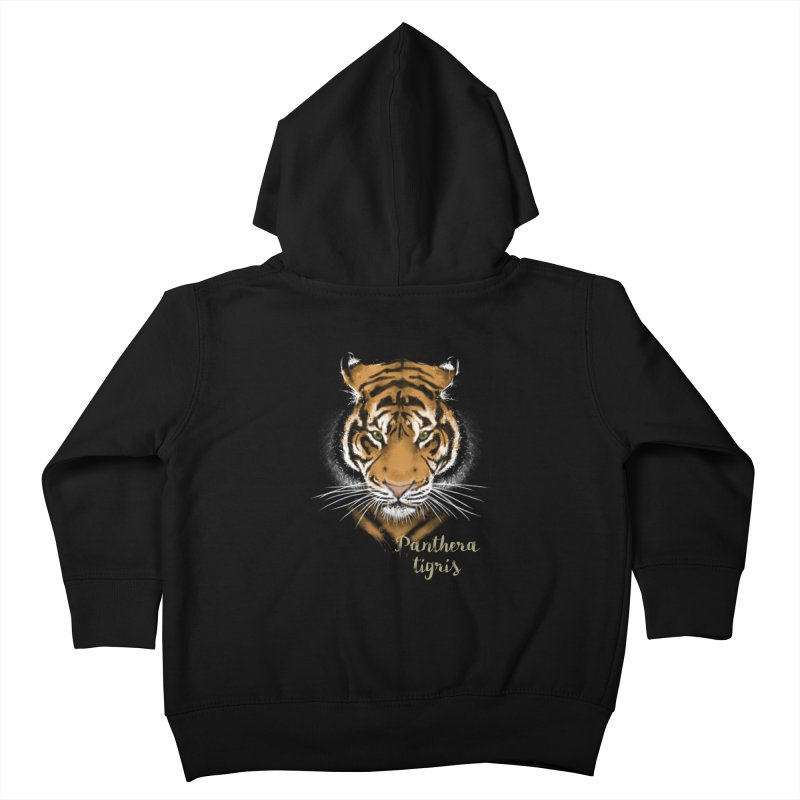 Tiger Kids Toddler Zip-Up Hoody by Tiger74  - t-shirts with a claw!