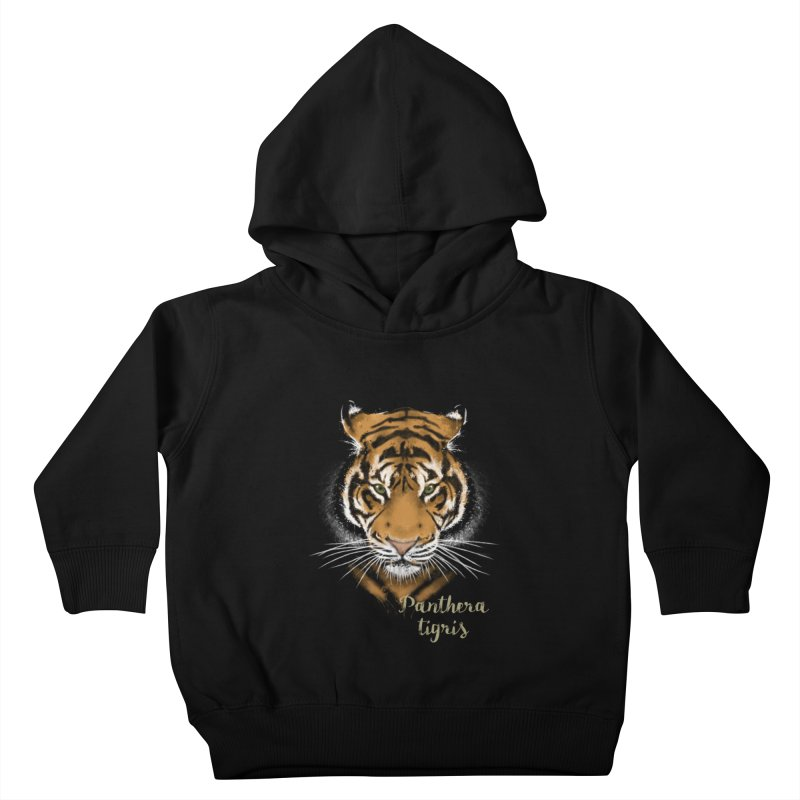 Tiger Kids Toddler Pullover Hoody by Tiger74  - t-shirts with a claw!