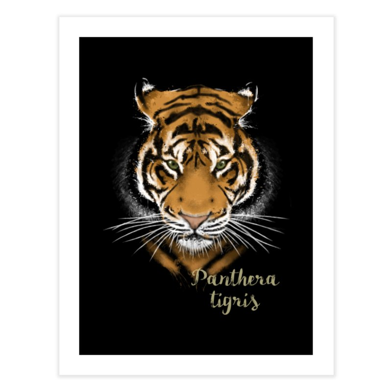 Tiger Home Fine Art Print by Tiger74  - t-shirts with a claw!