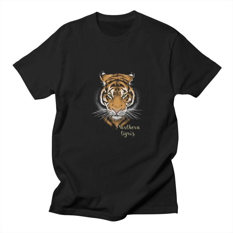 Tiger Women's Unisex T-Shirt by Tiger74  - t-shirts with a claw!
