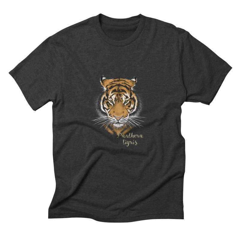 Tiger Men's Triblend T-Shirt by Tiger74  - t-shirts with a claw!