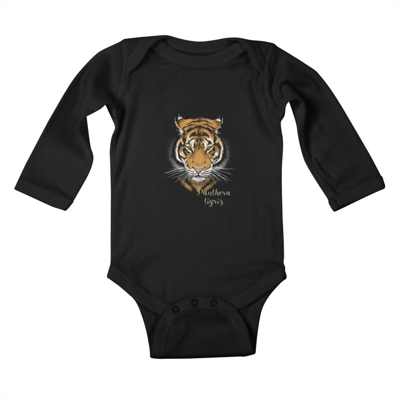 Tiger Kids Baby Longsleeve Bodysuit by Tiger74  - t-shirts with a claw!