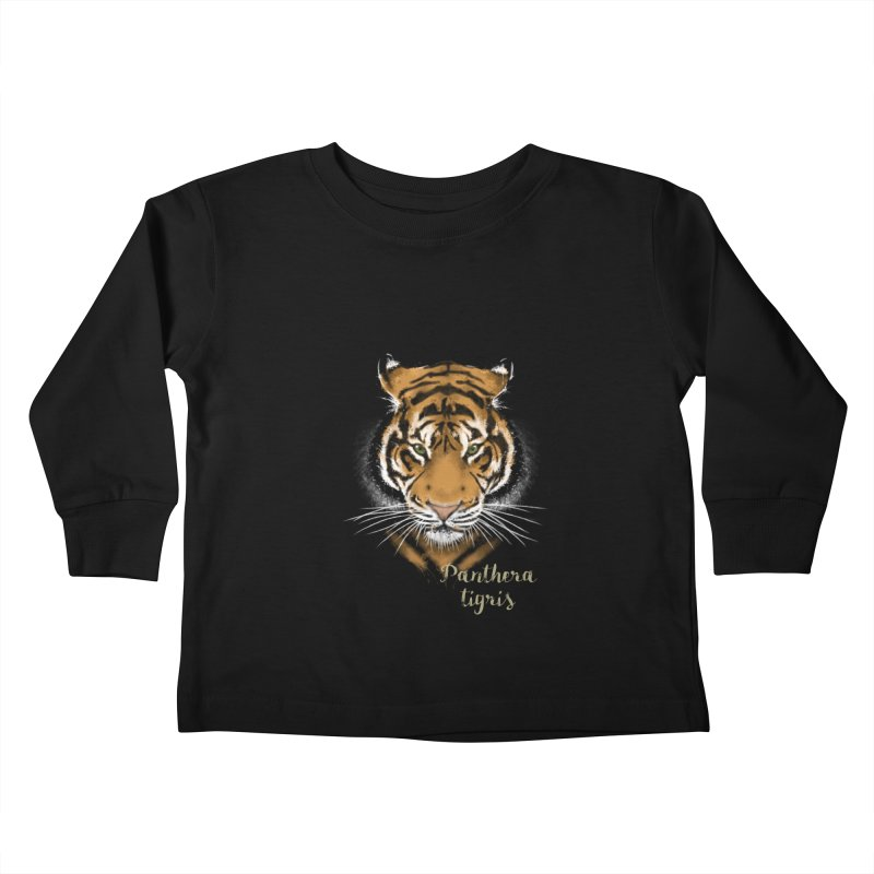 Tiger Kids Toddler Longsleeve T-Shirt by Tiger74  - t-shirts with a claw!