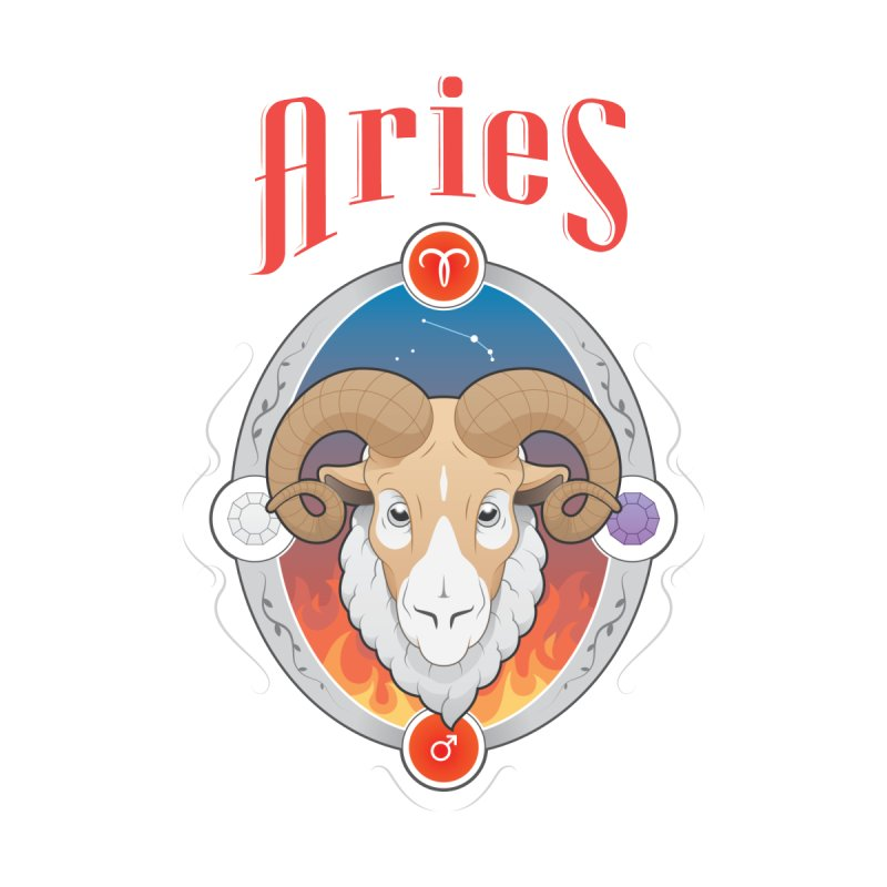 Zodiac - Aries by Tiger74  - t-shirts with a claw!
