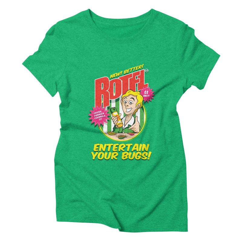 ROTFL Women's Triblend T-Shirt by Tiger74  - t-shirts with a claw!
