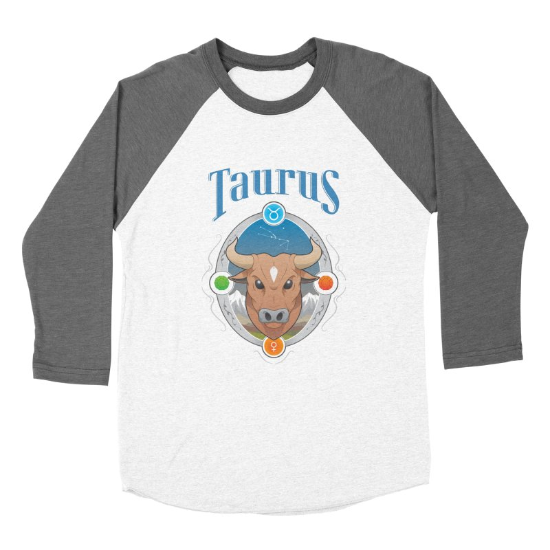 Zodiac - Taurus Women's Baseball Triblend T-Shirt by Tiger74  - t-shirts with a claw!