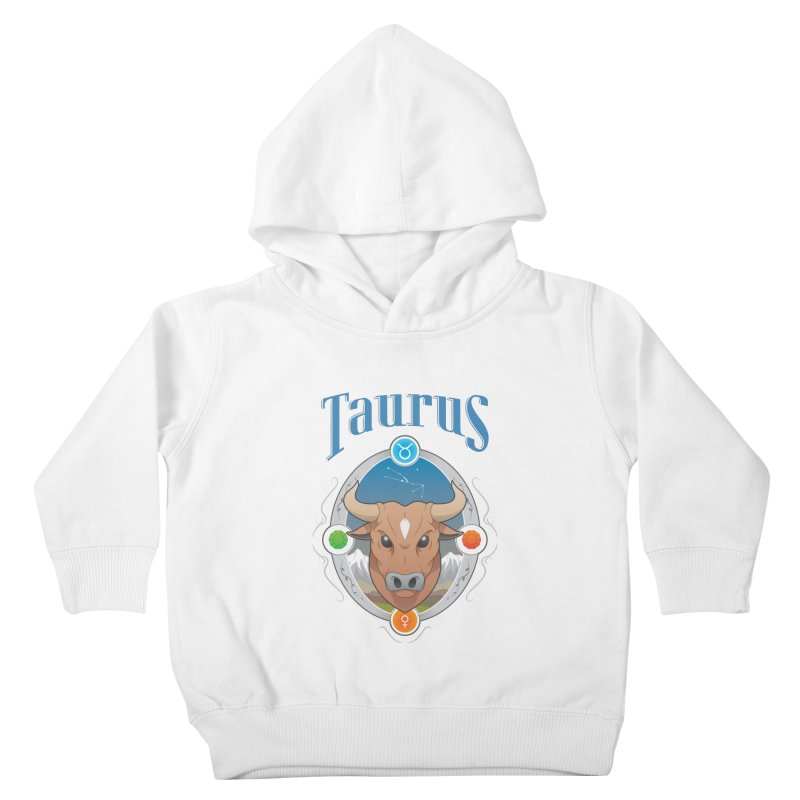 Zodiac - Taurus Kids Toddler Pullover Hoody by Tiger74  - t-shirts with a claw!