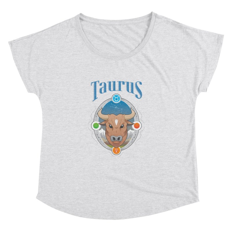Zodiac - Taurus Women's Dolman by Tiger74  - t-shirts with a claw!