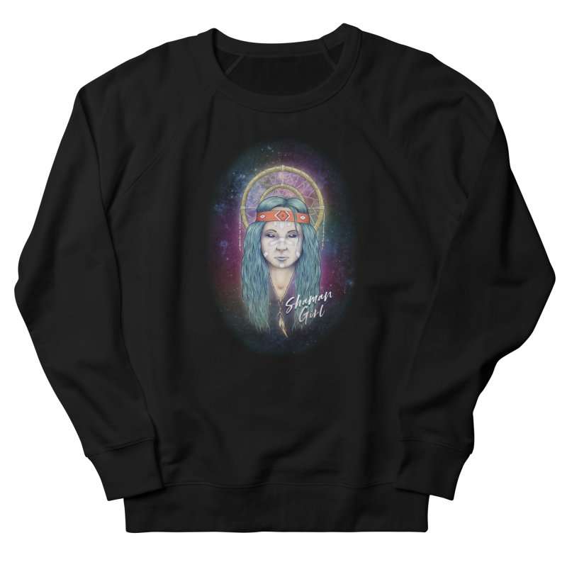 Shaman Girl Women's Sweatshirt by Tiger74  - t-shirts with a claw!