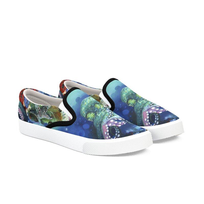 OCTO KICKS Men's Shoes by tigerbeearts's Artist Shop