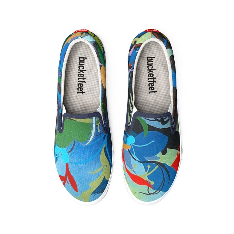 Blue Storm Men's Shoes by tigerbeearts's Artist Shop