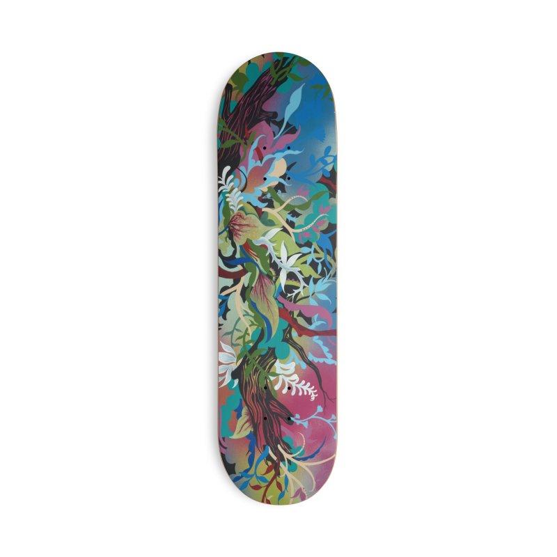 Jardine Zamora Skateboard Accessories Skateboard by tigerbeearts's Artist Shop