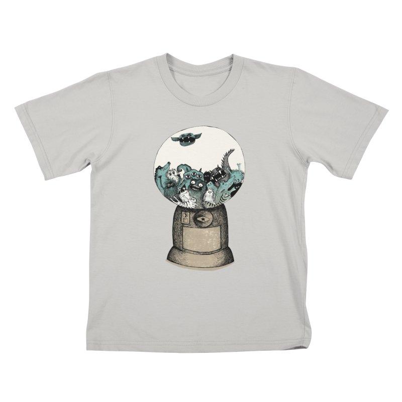 monstermatic Kids T-shirt by tigrowna